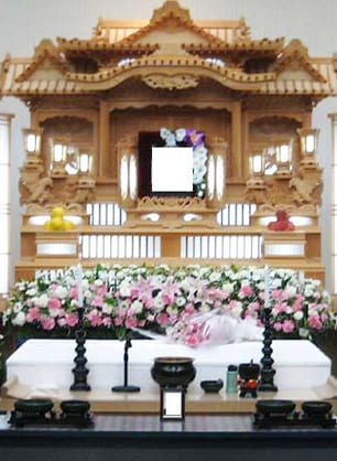 代々幡斎場を利用した小規模家族葬・ファミリースタンダードプラン