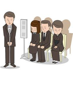 家族葬を通知する際の注意点