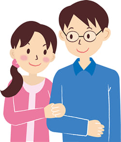 夫婦での役割分担を決めることで円満に参列することが出来る