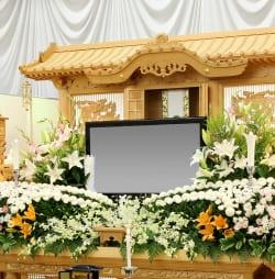 白木祭壇は原型が決まっている