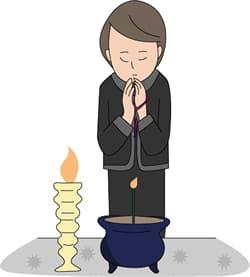 葬儀の後の自宅への弔問