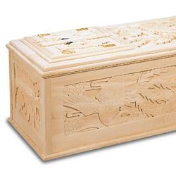 彫刻棺について