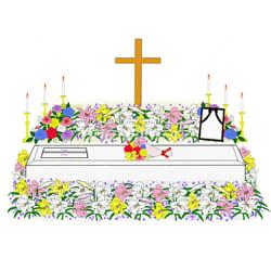 十字架の棺