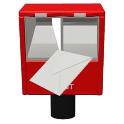 書類を郵送してもらう方法