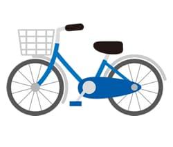 市内中をサイクリング