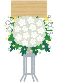 花祭壇を飾ってよかった