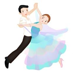 社交ダンスに明け暮れ