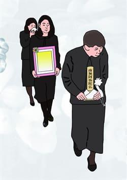 家族葬で執り行いました