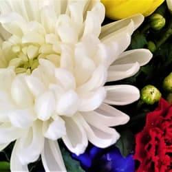様々な献花